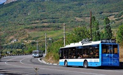 Маршруты движения троллейбусов в Симферополе