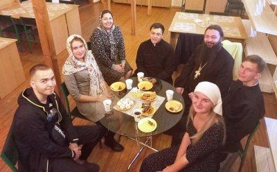 Встреча православной молодежи в Свято-Никольском храме